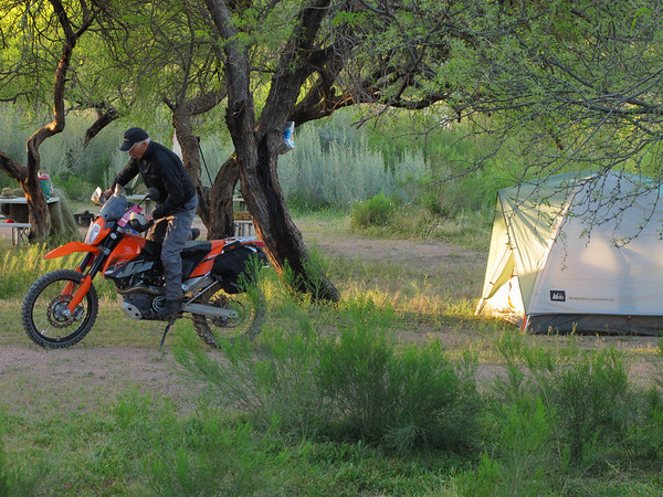 Apache Lake - Gimp camp 4-4-13 Phil, Richard, Brandon, Mike
