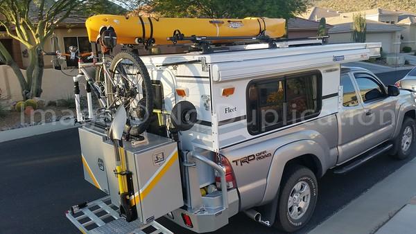 Aluminess /  FWC Camper / Tacoma Build